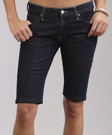 Love this Midnight Dark Stovepipe Bermuda Shorts - Women on #zulily! #zulilyfinds