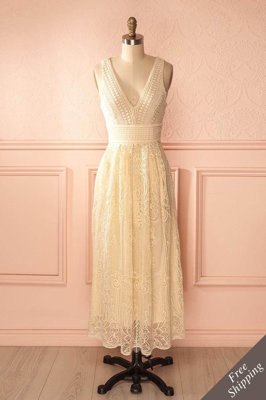 Adéloïse boutique lace maxi and dressing gown