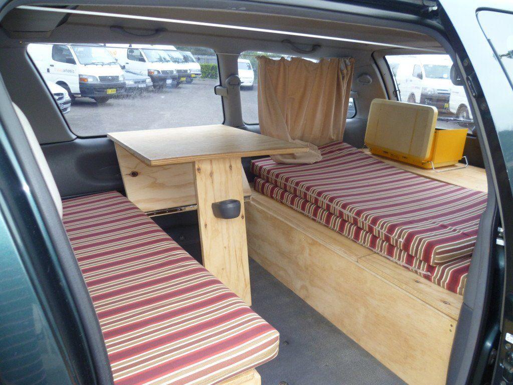 campervan toyota tarago for sale in sydney image 2 projects to try pinterest. Black Bedroom Furniture Sets. Home Design Ideas