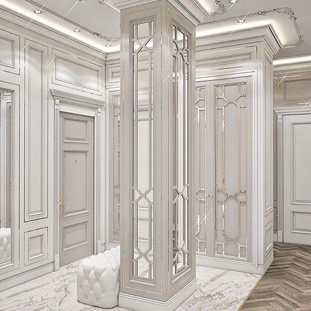 شركة الاسقف الفرنسية لديكور لتصميم وتنفيذ الديكور الداخلي في الفلل Living Room Decor Inspiration Luxury Living Room Design Classic Interior Design Living Room