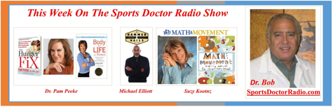 Listen in as I join Suzy Koontz & & Michael Elliott on Sports Doctor Radio, hosted by Dr. Robert A. Weil, D.P.M.  We talk about the timing of meals in relation to workouts!  https://tinyurl.com/lmppvgj