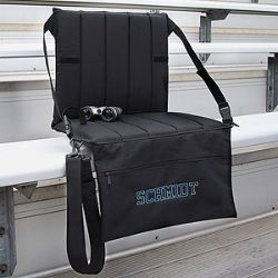Personalized Portable Padded Bleacher Seat  $49.95