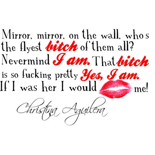Christina Aguilera Quote