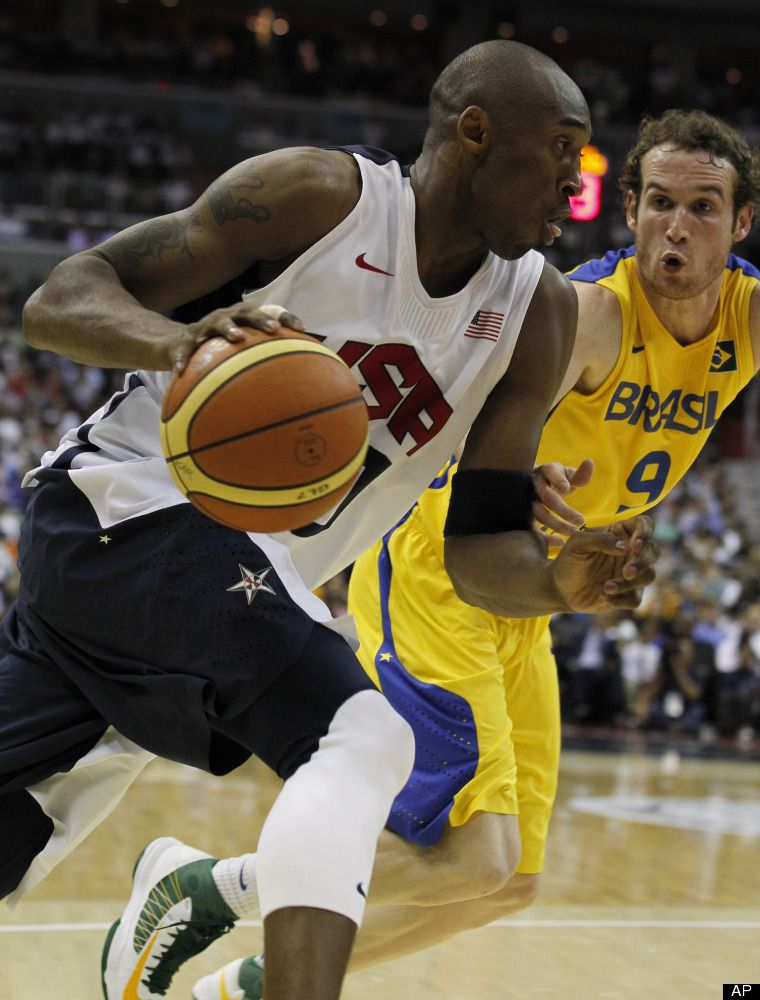 USA Basketball Kobe Olympic Team Win To Beat Brazil In