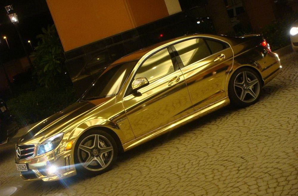 chrome gold car wallpaper - photo #31