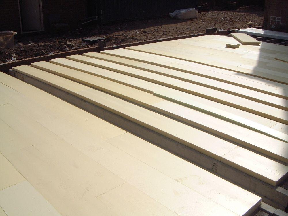 tetris precast concrete floor insulation insulated floor system - Tetris Planken