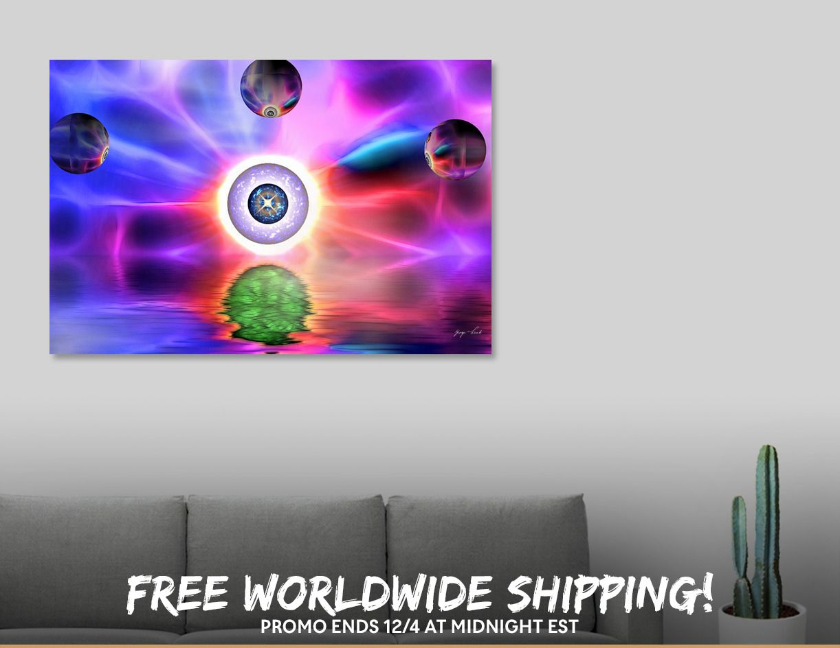 Discover «Satori», Limited Edition Canvas Print by Glink - From $59 - Curioos