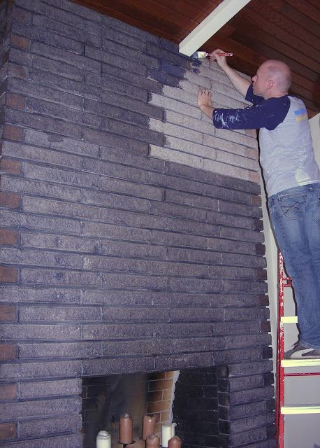 Don 39 T Paint Your Brick Stain It Diy Brilliance Pinterest Bricks House And Basements