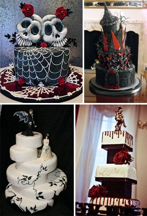 Goth wedding cakes #WeddingCakes #Weddings | Inspiration in 2019 | Gothic wedding cake, Wedding ...