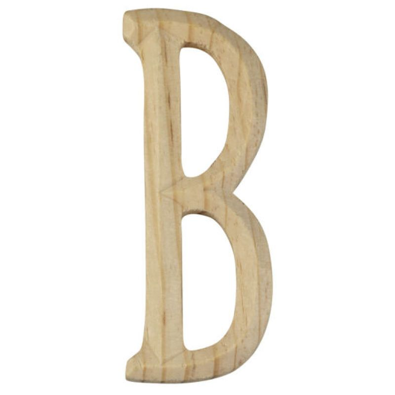 artminds carved wood letter b 4