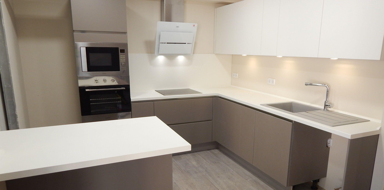 muebles de cocina gris - Buscar con Google | cocinas | Pinterest ...