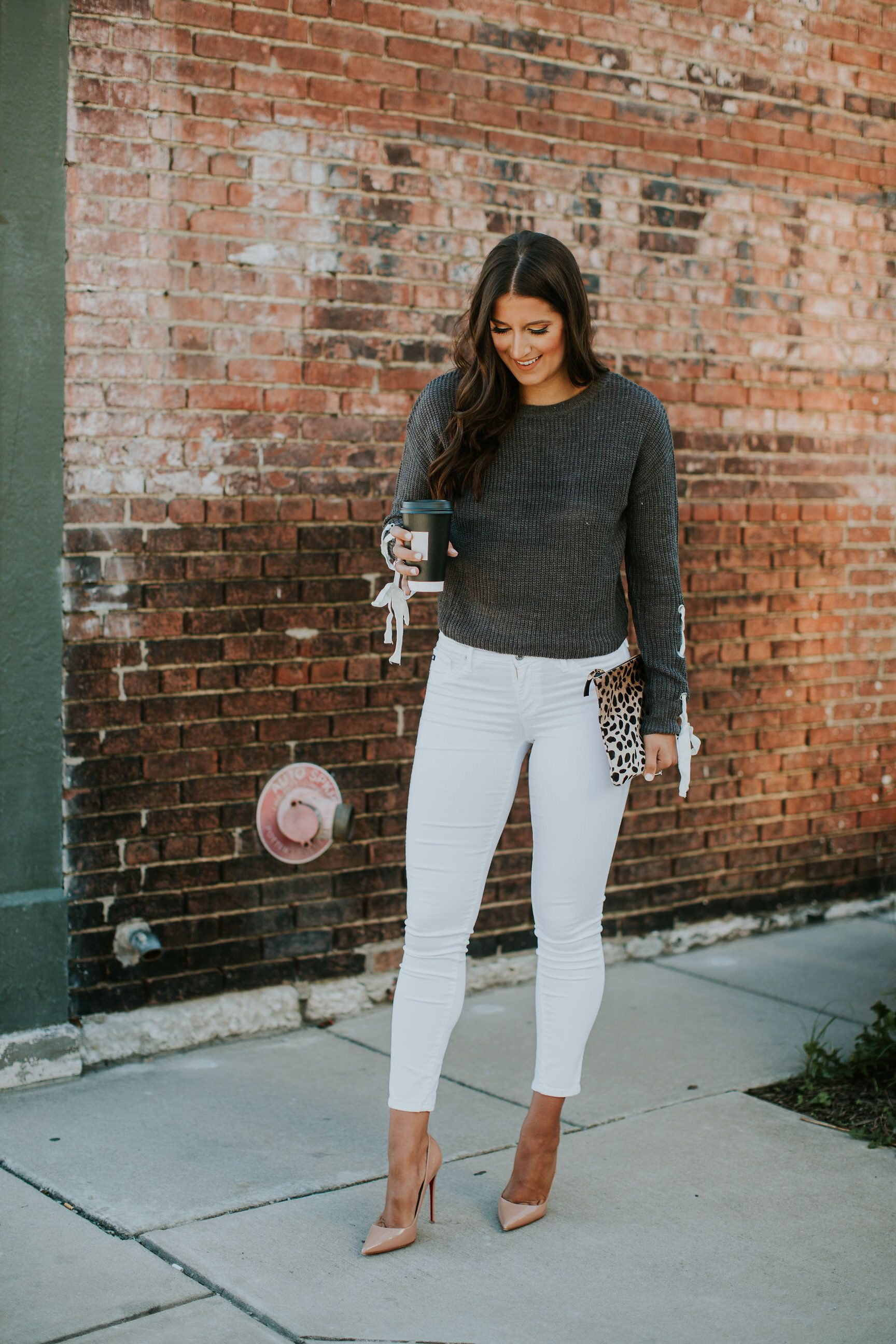 Lace Up Sweater   Daily Chic   Cute fall fashion, Outfits