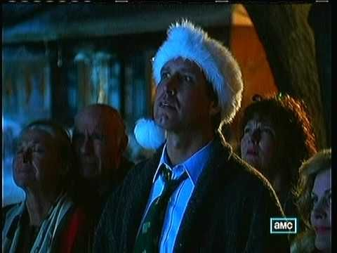 Christmas Vacation 1989 Final Scenes Aunt Bethany Sings The National Anthem Youtube
