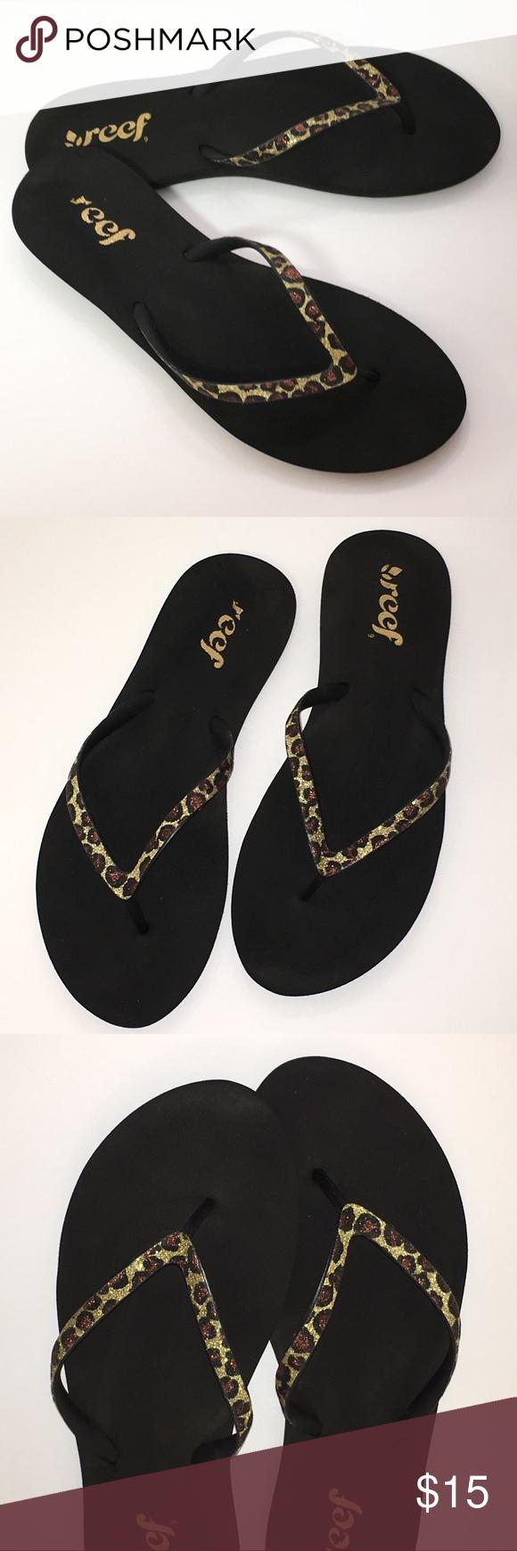 Reef Stargazer Lux Black Leopard Sandal