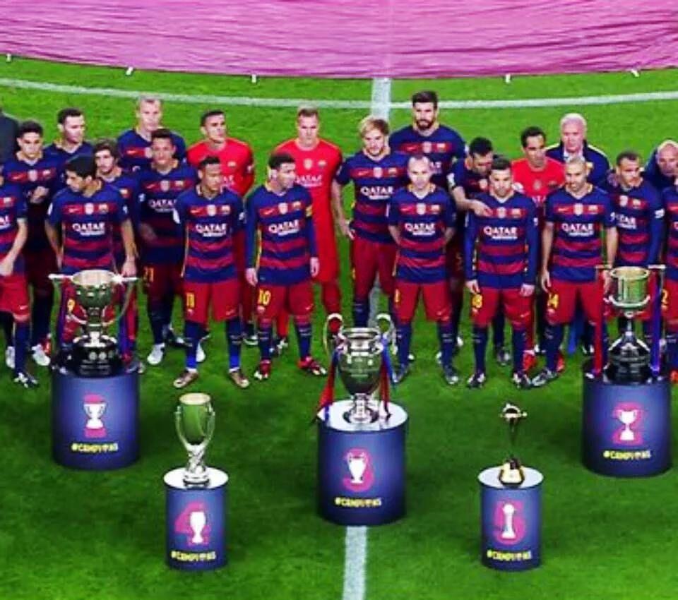 El resumen del 2015 para el Fútbol Club Barcelona.