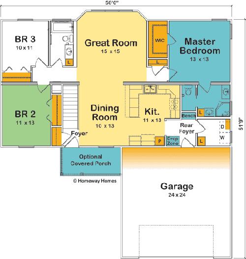The Lakeview Custom Floorplan Floor Plans House Floor Plans Custom Home Designs