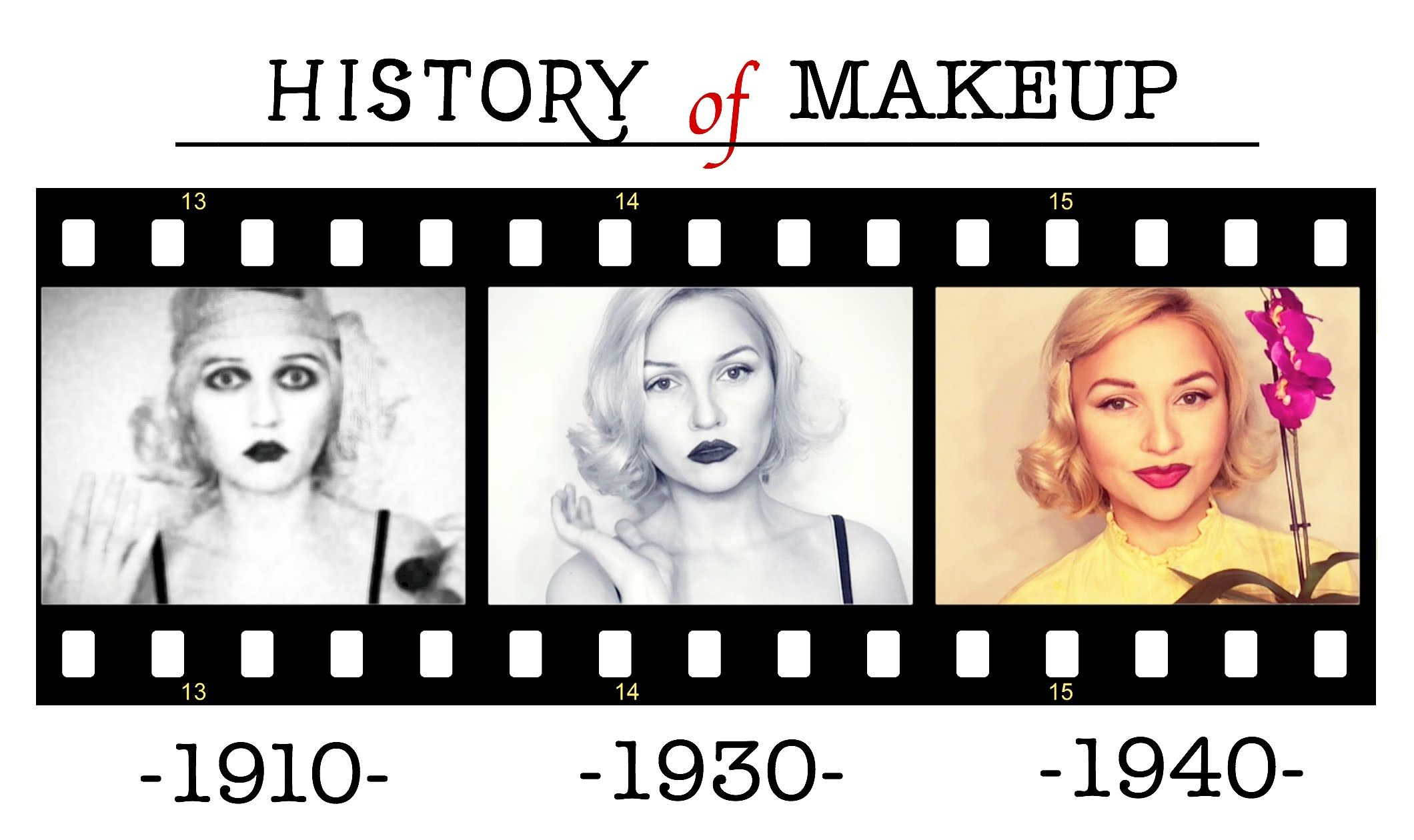 history of makeup part 1