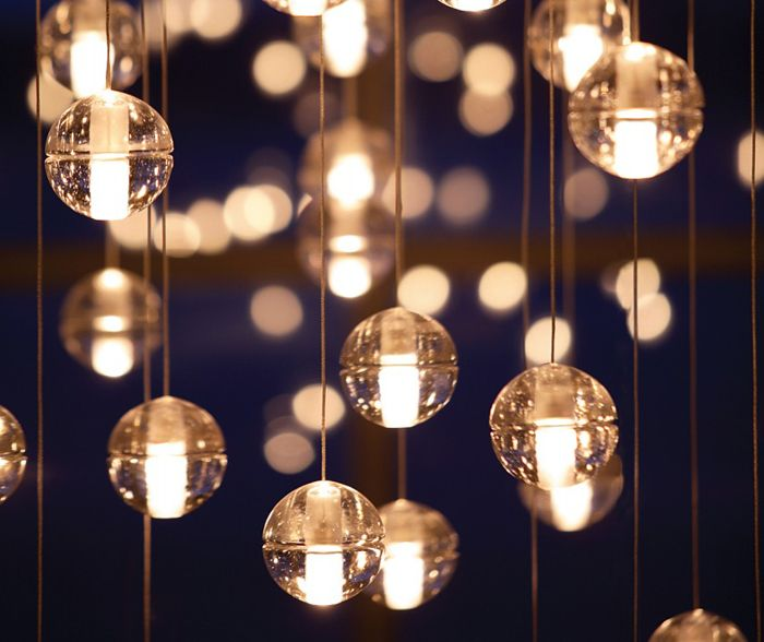 Led crystal glass ball pendant lamp meteor rain meteoric shower stair bar droplight chandelier lighting home office décor aliexpress affiliates pin
