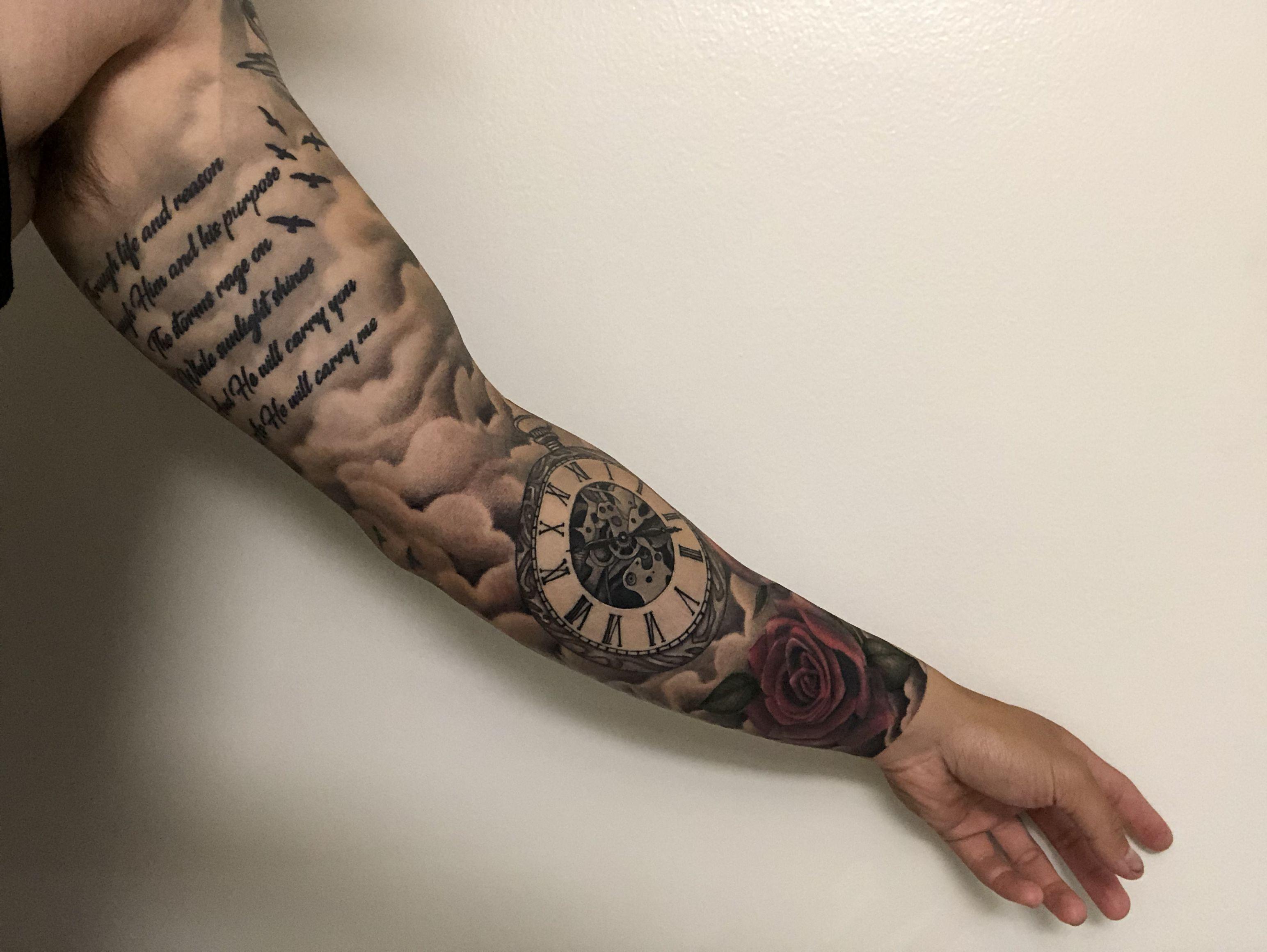 Sleeve Cool forearm tattoos, Bird tattoos arm, Tattoos