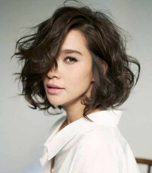 Short Hairstyles For Wavy Hair Goshorthairstyles Com Messy Short Hair Short Hair Styles Thick Hair Styles