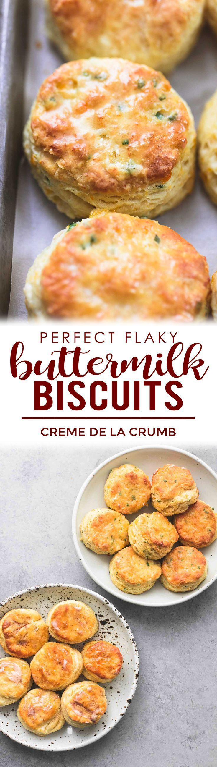 One Dough Two Sweet And Savory Variations Of The Most Perfectly Flaky Buttermilk Biscuits Cheddar Chive And Hon Buttermilk Biscuits Recipes Cooking Recipes