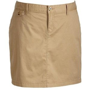 c7ecf7872 Khaki Uniform Skirt Junior Sizes   Old Navy Womens Plus Perfect Khaki  Skirts - Basswood brown