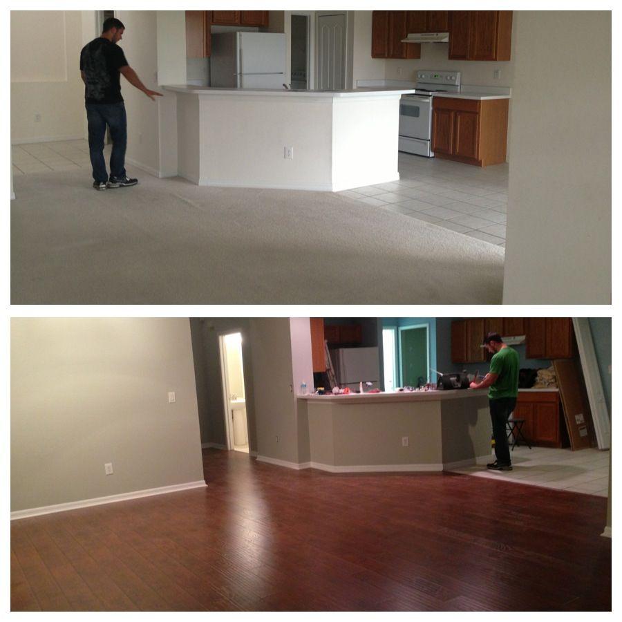 Difference Of Hardwood And Laminate Flooring: SAMs Club Laminate Flooring. Select Surfaces Canyon Oak