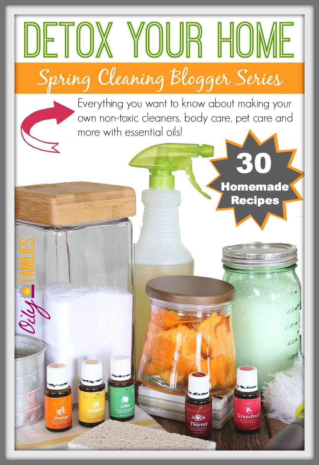 DIY Homemade Oven Cleaner Detox your home, Essential