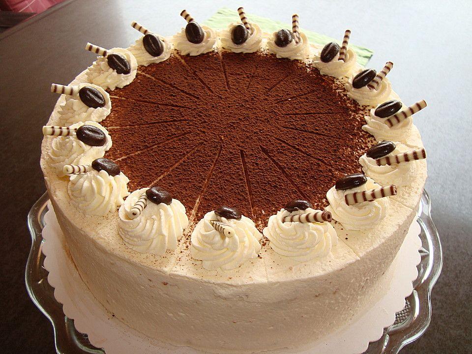 Uschis Tiramisu-Torte | tiramisu | Gebak recepten ...