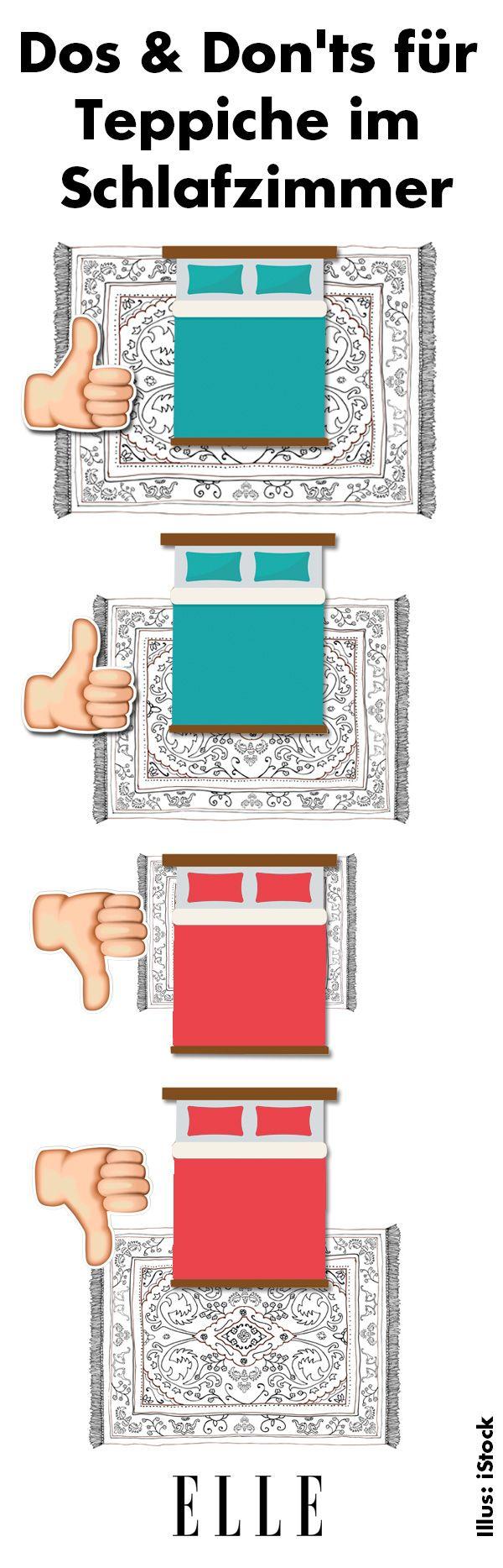 dos don 39 ts f r teppiche im schlafzimmer deko trends. Black Bedroom Furniture Sets. Home Design Ideas