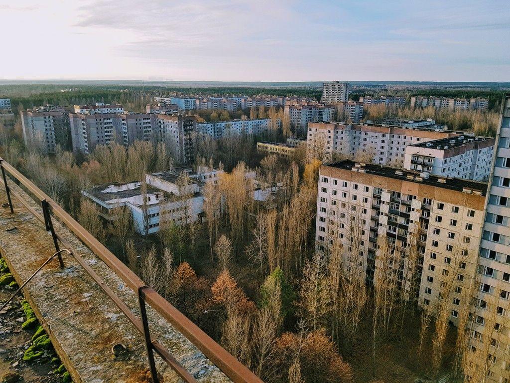 Pripyat - unique panoramic photos 46