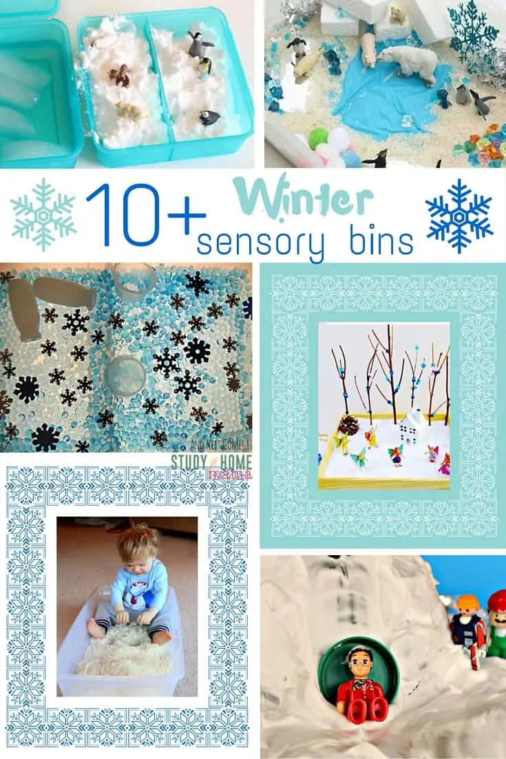 Top 10+ Winter Sensory Bins ⋆ Sugar, Spice and Glitter