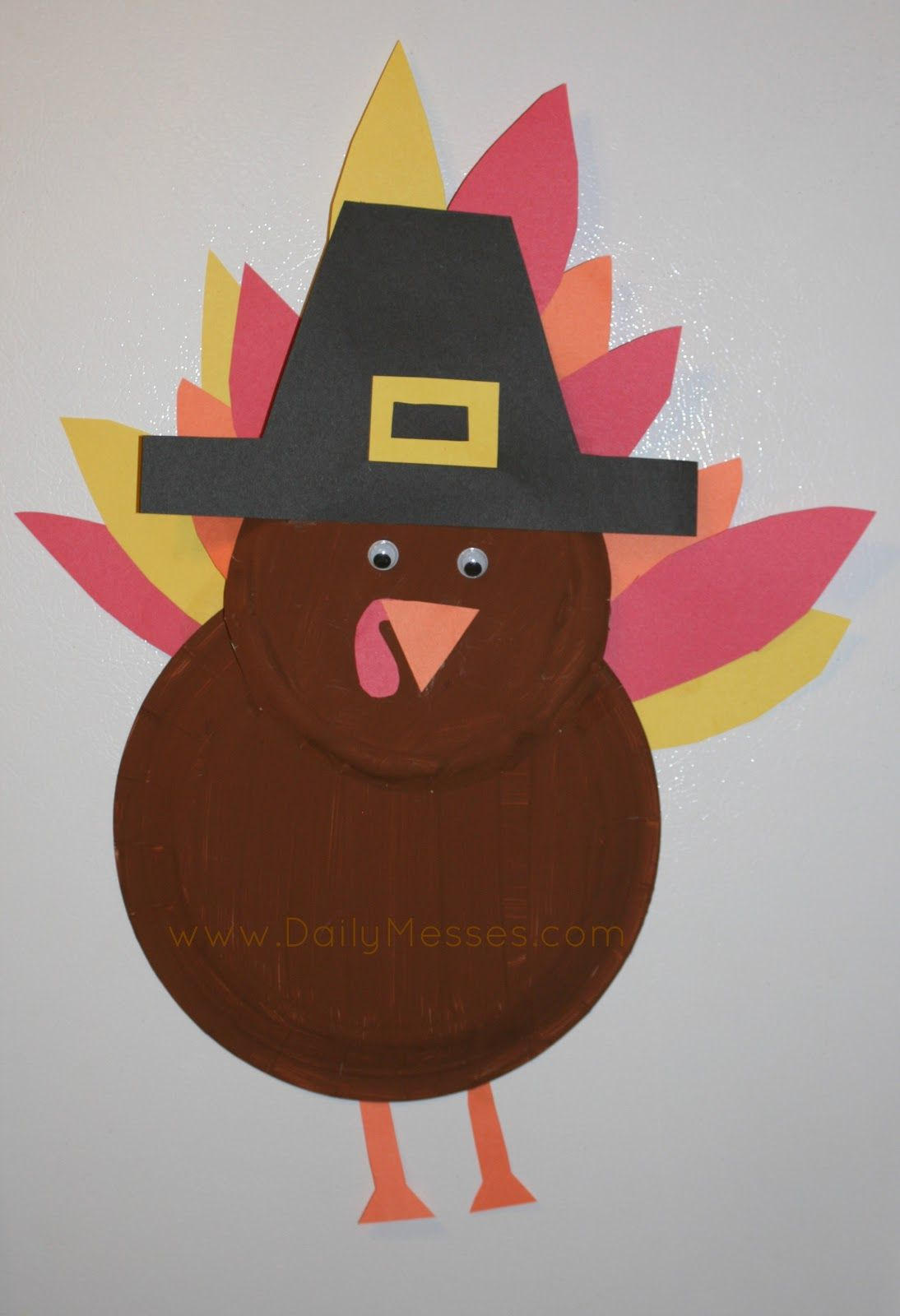 turkey paper plate craft - Google Search : turkey paper plate - pezcame.com