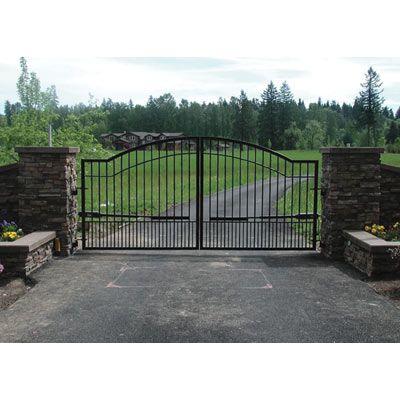 Driveway Gate Entrance Gates Driveway Driveway Gate Fence Gate Design