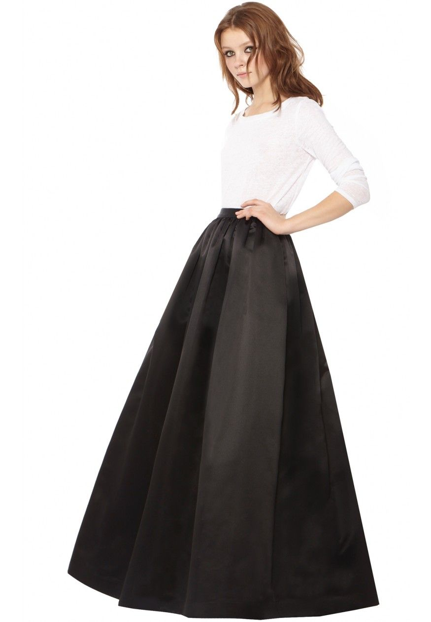 Tina Solid Long Ball Gown Skirt | Skirts | Alice + Olivia | Lovely ...