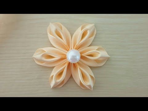 Amazing Ribbon Flower Work Hand Embroidery Flowers Design