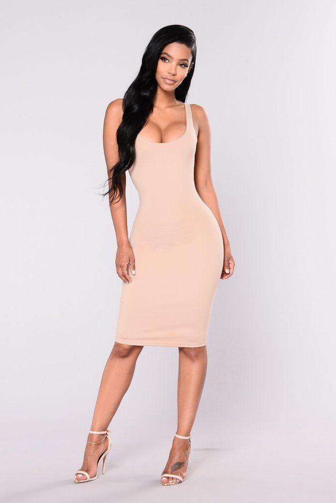 Julia Bodycon Dress - Nude 3f2aff38d488