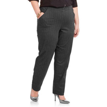 b498591dd21 Just My Size Women s Plus-Size 2-Pocket Stretch Pull-On Pants ...