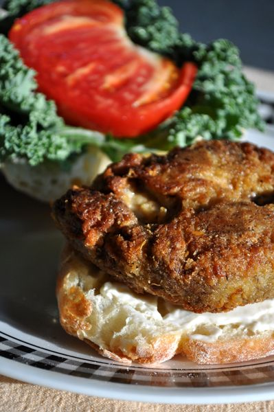 "Vegan Fried ""Chicken"" (seitan)"