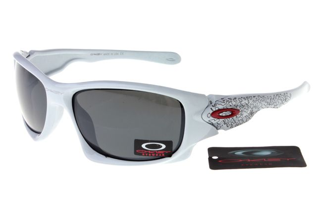 f55d0b0ce45 Oakley Crankcase Sunglasses White Frame Black Lens 0159