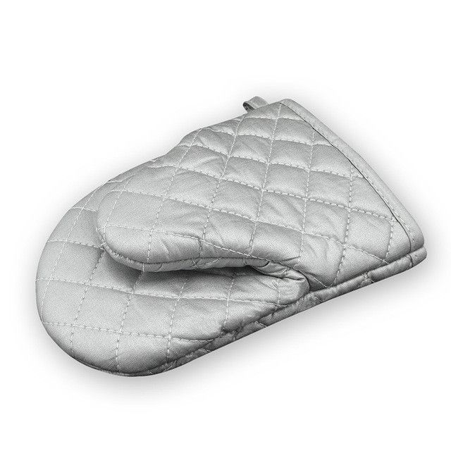 TTLIFE 1PC Silver Thicken Heat Resistant Oven Gloves Mitts Kitchen Microwave Oven Gloves Bakeware Cooking Accessories