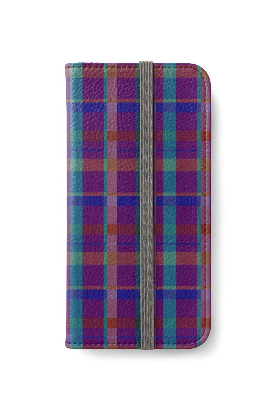 Purple Plaid Plaid Pattern iPhone Wallet by scardesign11 #iPhone #iphonewallet #buyphonewallet #buygifts #gifts #pattern #circles #abstract #geometric #summergifts #redbubble #giftsforhim #giftsforher #giftsforteens #teenagers #hipster #colorful #style #swag #plaid #plaidgifts