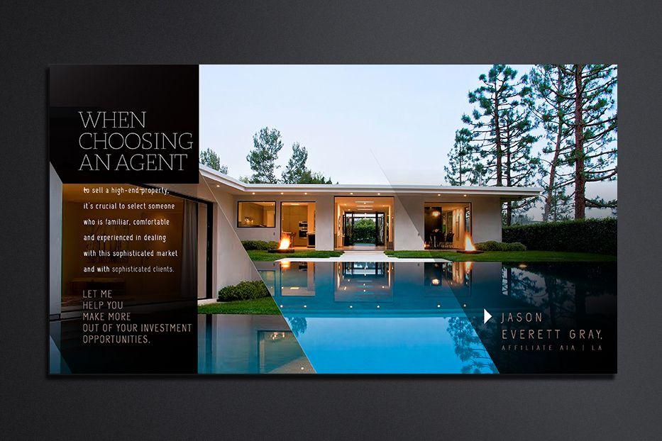 real estate postcard