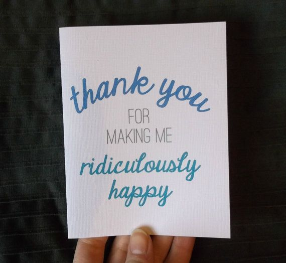 Thank You Boyfriend Quotes: Thank You For Making Me Ridiculously Happy