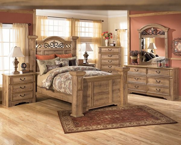 Ashley Whimbrel Forge Bedroom Set Love The Chunky Bed Frame