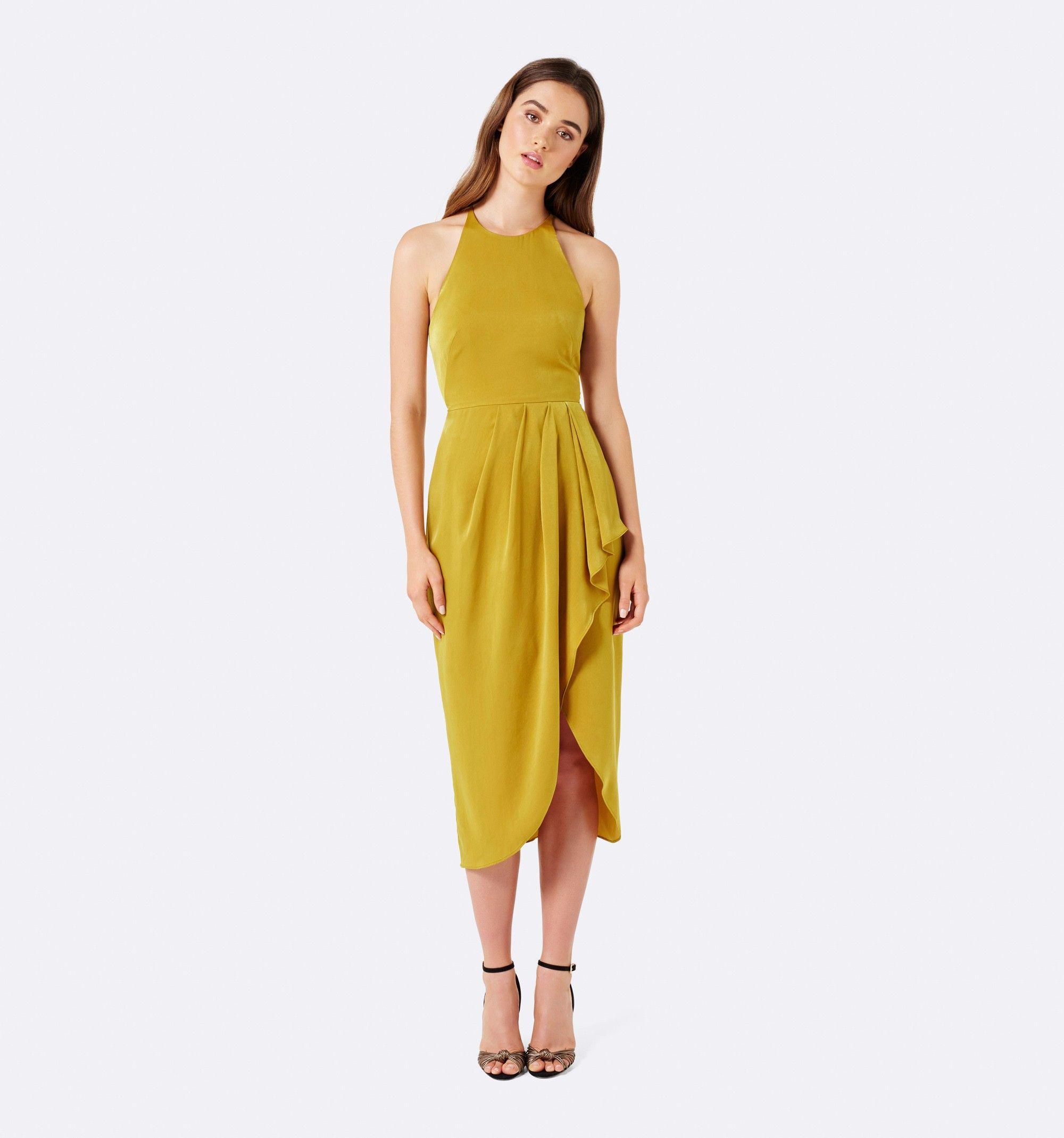 1d0966cbe714 Amber Wrap Midi Dress Orche - Womens Fashion | Forever New ...
