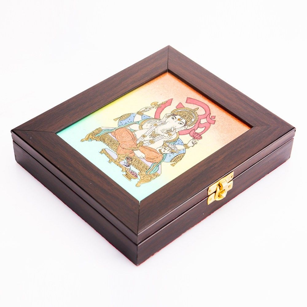 Gemstone Jewel Box Ganesha Return Gift For Wedding Wedding