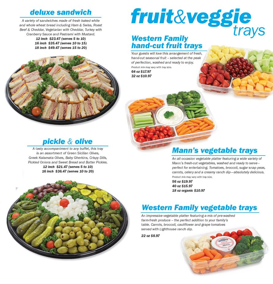 Costco Deli Party Platters – Jerusalem House