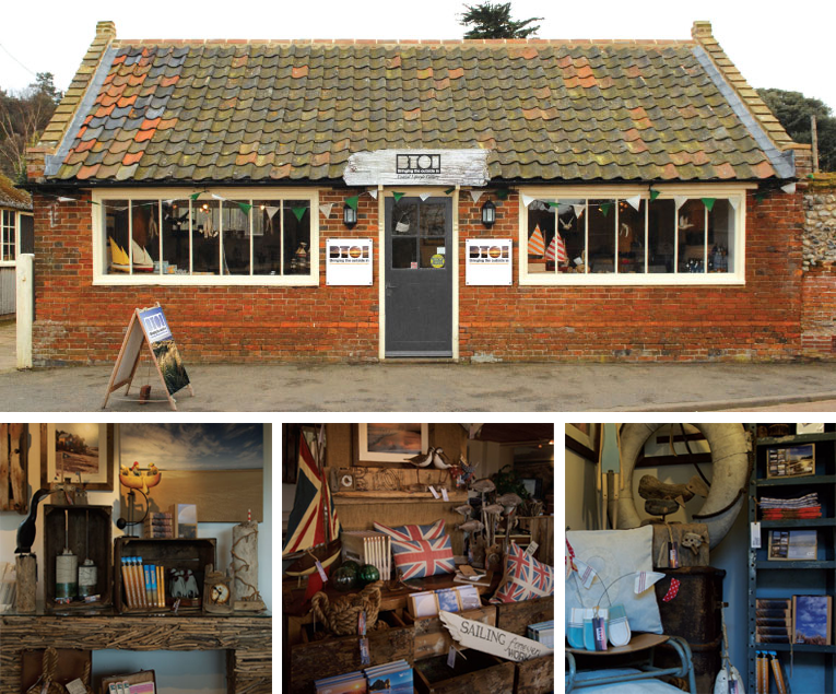 Bringing the outside in  A must visit shop on the Norfolk Coast