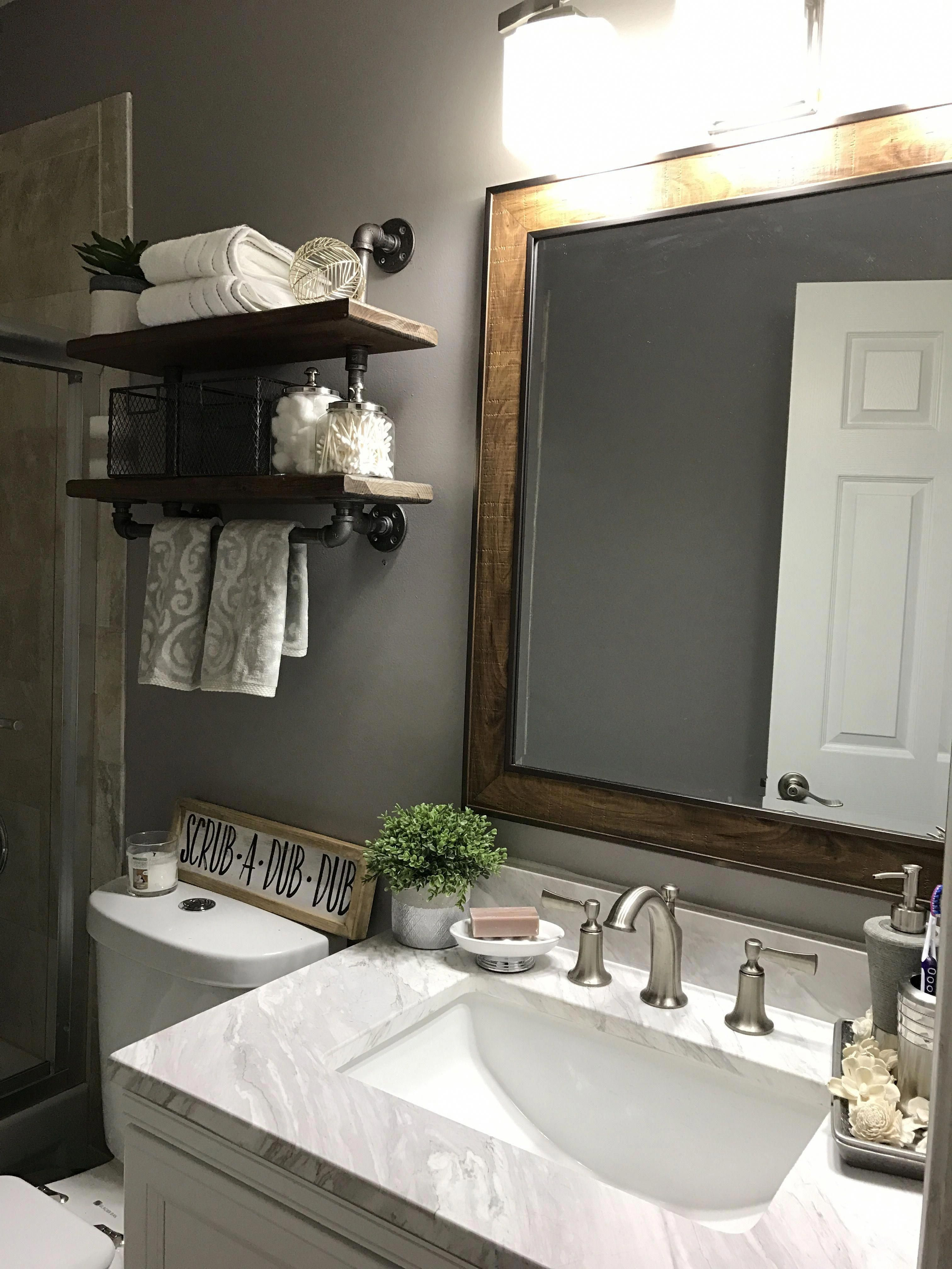 our small bathroom remodel on a budget